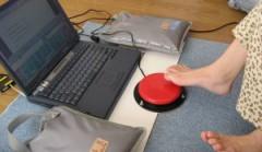 スイッチ一つでパソコン操作